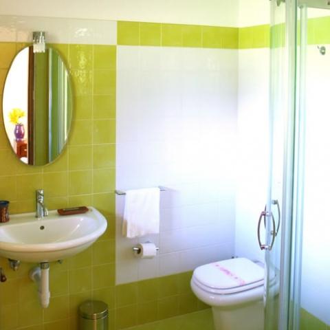 Radici B&B Sambuco | camera verde